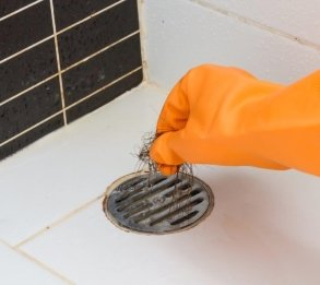 Cleaning Out Shower Drain